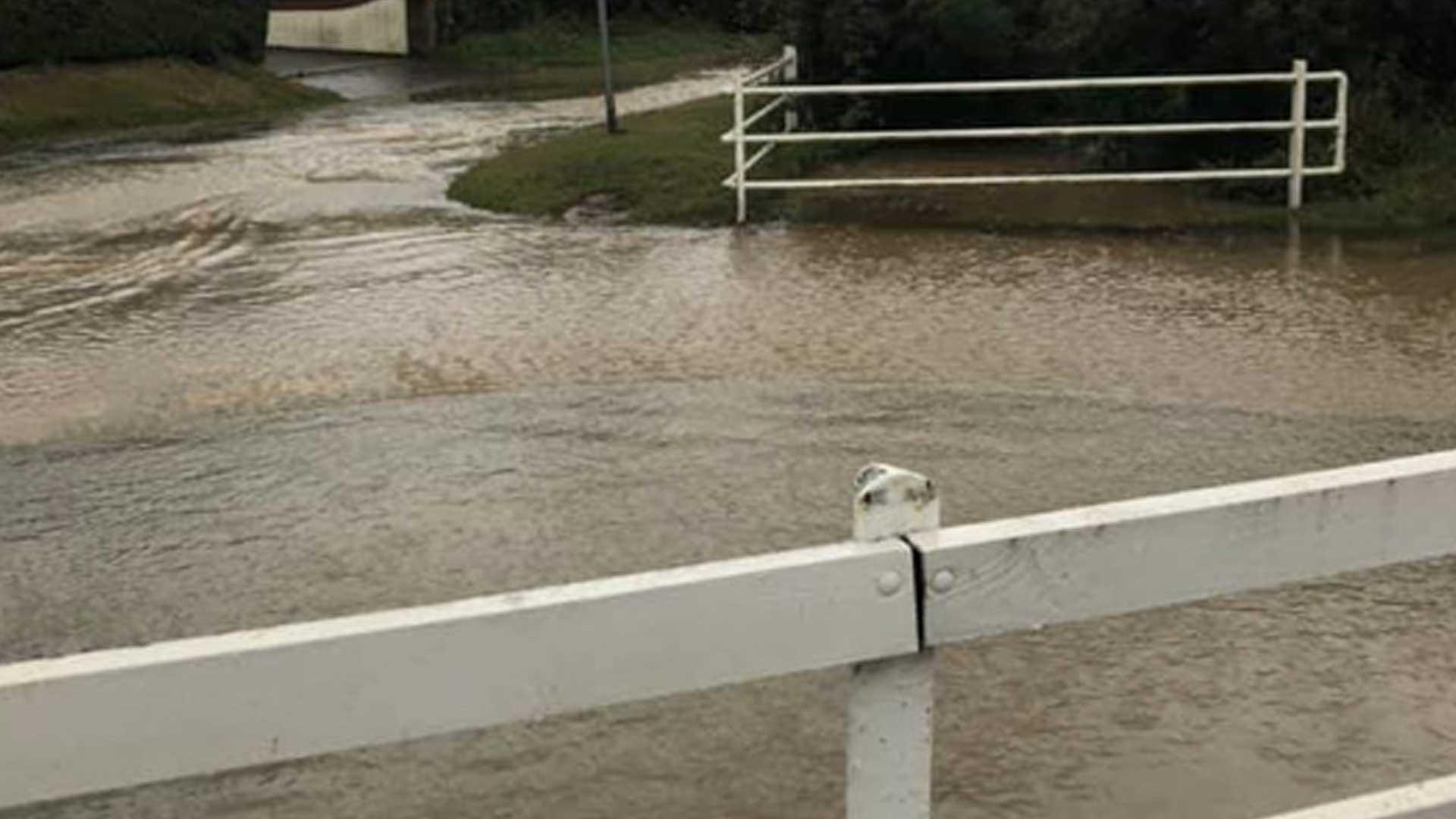 Hills Road flooding Watton Saham