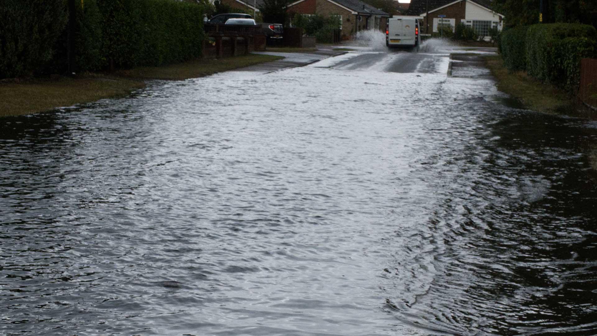 Monkhams Drive flooding