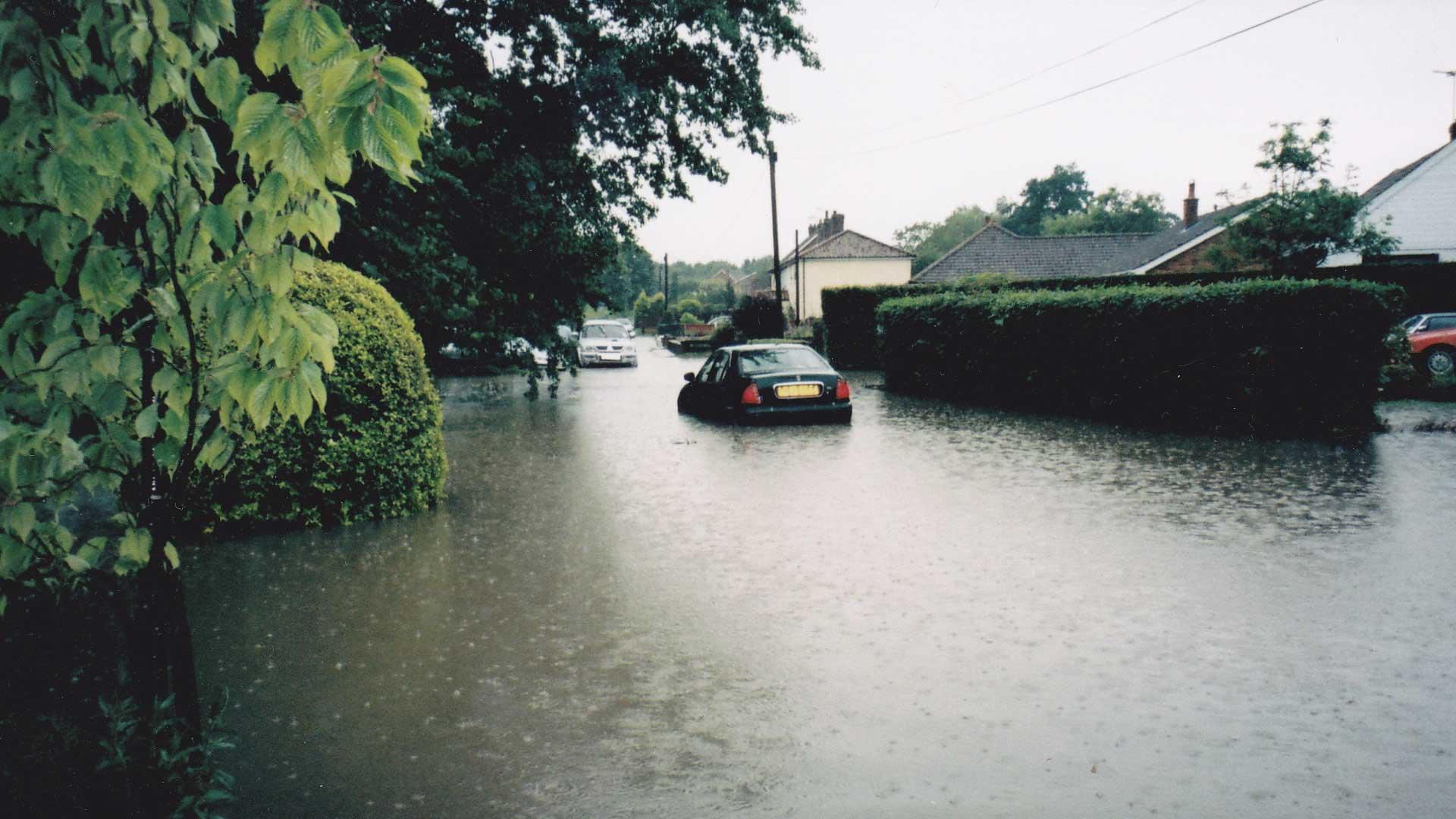Flooding Watton Saham